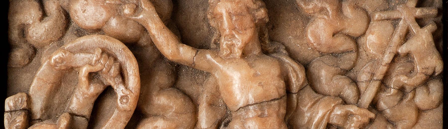 The Assumption, alabaster, Mechelen (?), ca. 1630 (copyright: M - Museum Leuven | photography: Paul Laes)